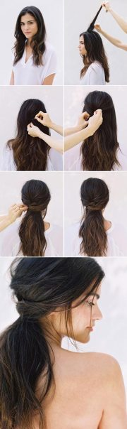flattering hairstyle
