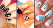 coolest striped nail