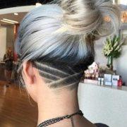 edgy undercut women hairstyle
