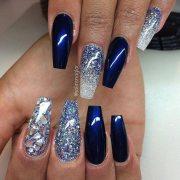easy glitter nail art ideas