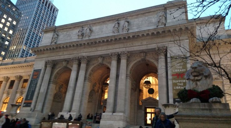 Main Entrance, New York Public Library Main Branch
