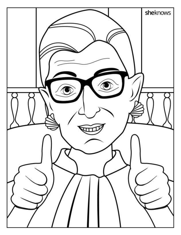Supremely Awesome: A Free, Printable Ruth Bader Ginsburg