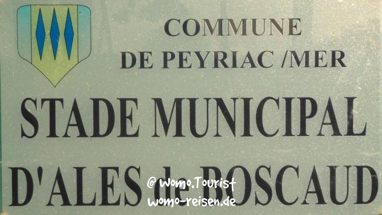 Stellplatz Peyriac-de-Mer