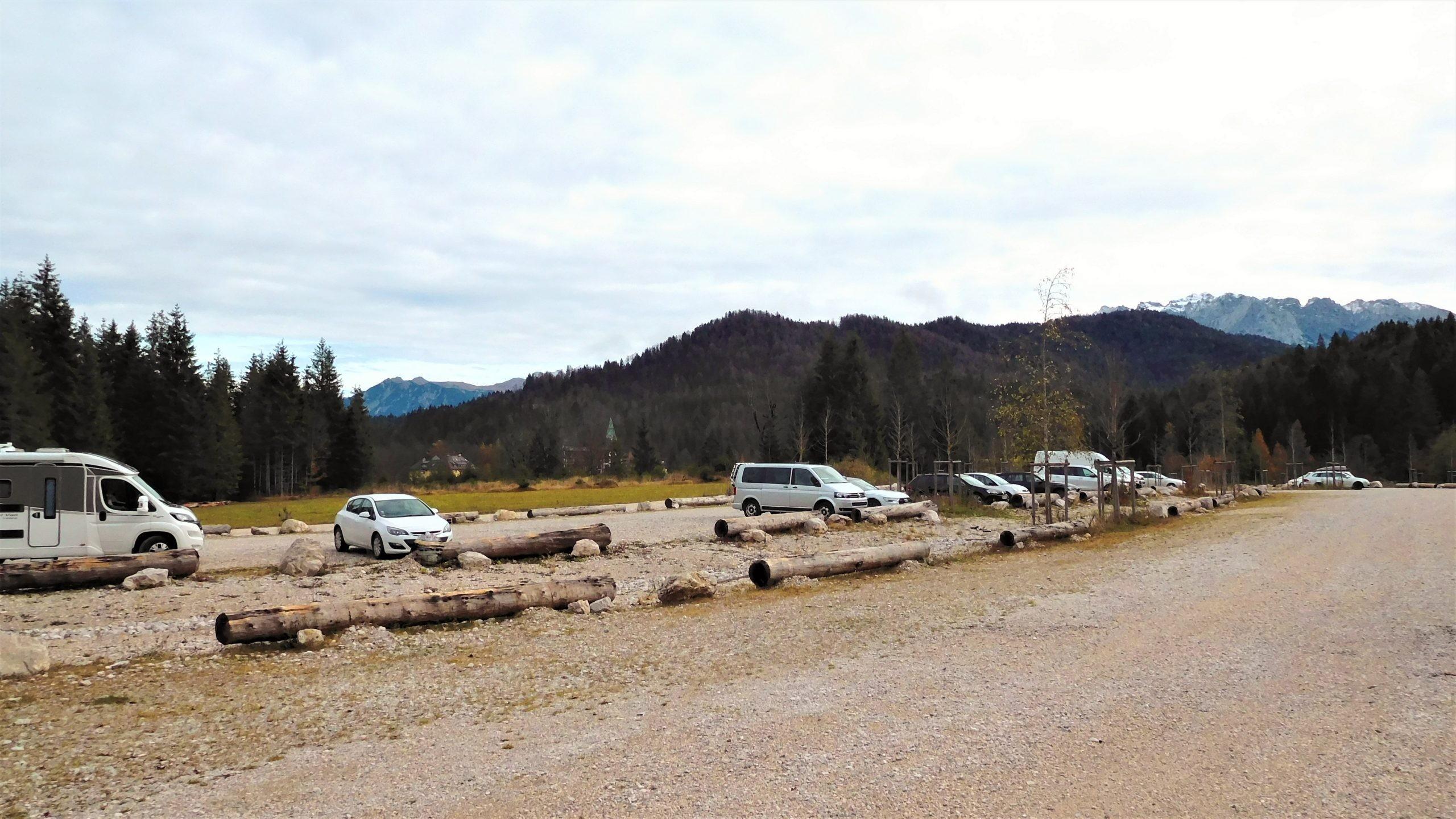 Wanderparkplatz Elmau