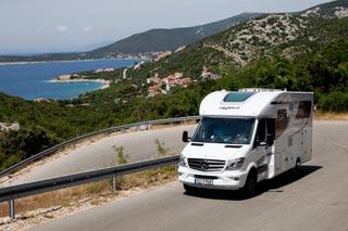 Mit dem Wohnmobil durch Kroatien