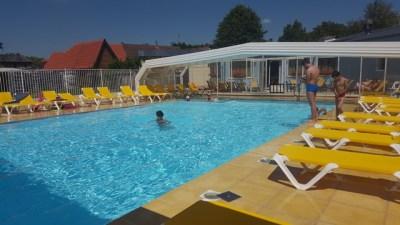 Der Pool...bei 33 Grad eine coole Sache