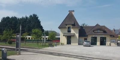 Bahnhof der Schmalspurbahn