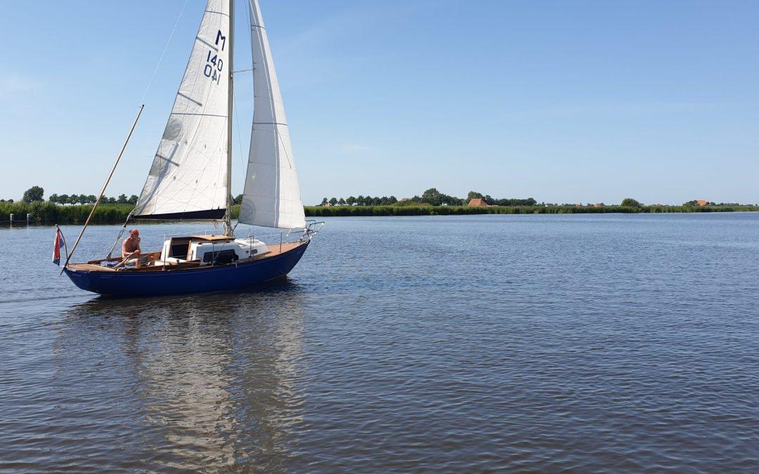 Wohnmobiltouren im Corona-Sommer-  Jachthafen Heeg NL