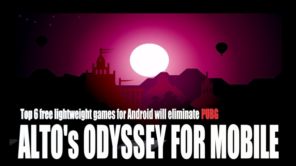Best Mobile Adventure Game for The Year 2020