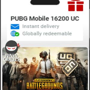 Buy PUBG Mobile 16200 UC