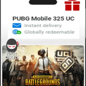 Buy PUBG Mobile 325 UC $5.99