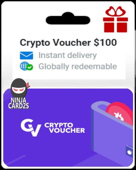 Buy Crypto Voucher Online $ 100