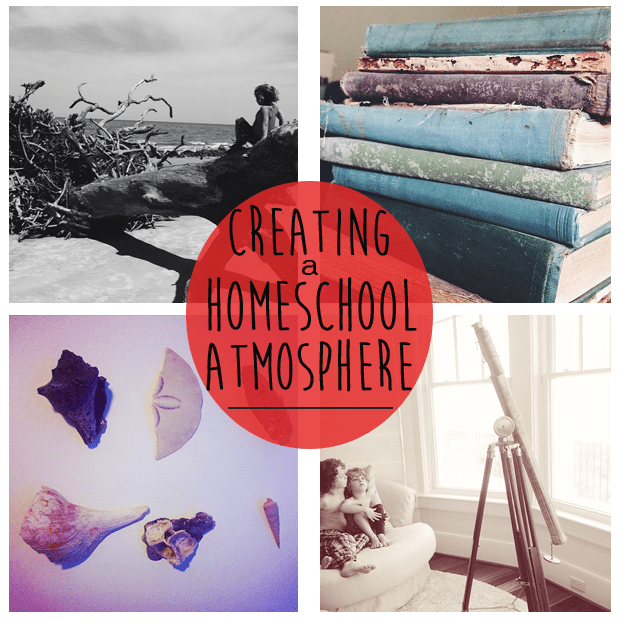 Creating a nuturing and beautiful home school atmosphere