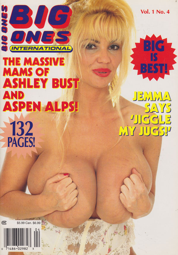 Big Ones International Vol 1  4 Adult Magazine Back Issue Big Ones International
