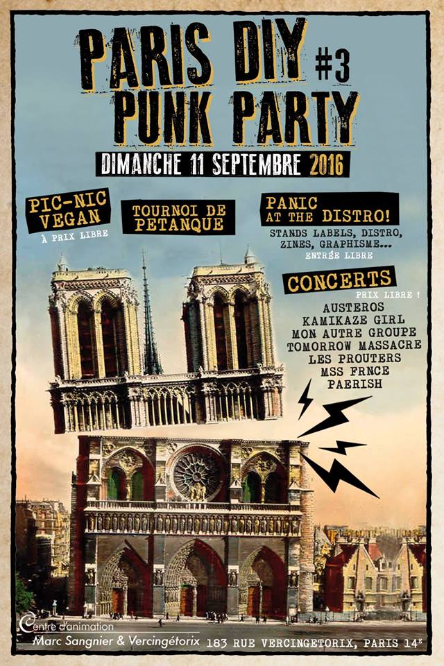 PARIS DIY PUNK PARTY #3