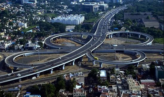 Kathipara flyover Chennai