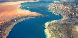 Strait between Arabian Sea and Persian Gulf