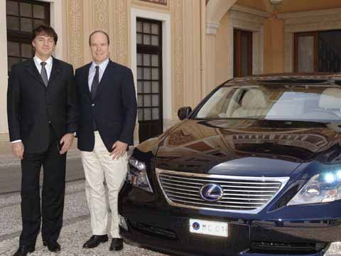 President Car Monaco - Lexus 600h