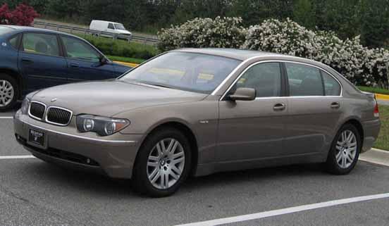 President Car New Zealand - BMW 7 Series