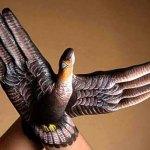 Painted Hands - Bird