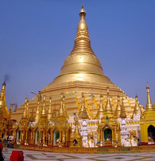 Shwedagon Paya or Pagoda