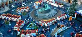 Famous prague christmas market