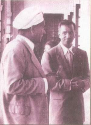 Raman and S Chandrasekhar