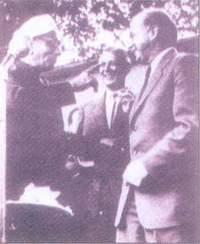 Raman and Werner Heisenberg