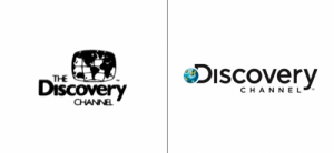 Discovery Channel logo old vs new