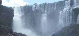 Iguazu Falls – taller and far wider than Niagara Falls