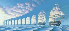 illusion – Are they Ships or Pillars!