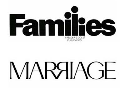 families marriage logo