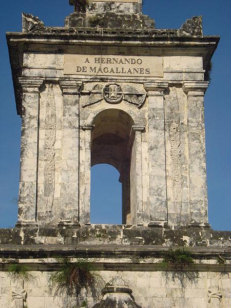 A Hernado De Magallanes monument in lapu-lapu city