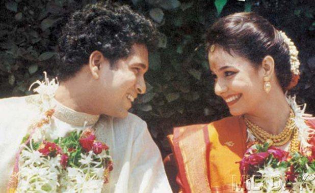 sachin marriage