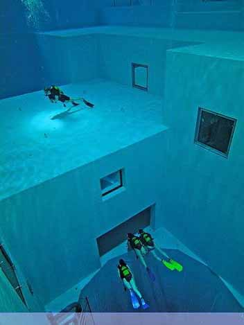 Nemo 33 - Deepest Swimming Pool of the world - 06