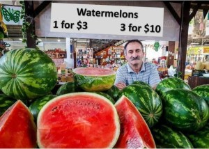 watermelon seller