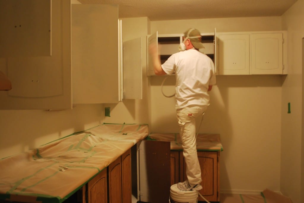 spraying kitchen cabinets cheap tables and chairs spray like a pro | wonderful woodworking