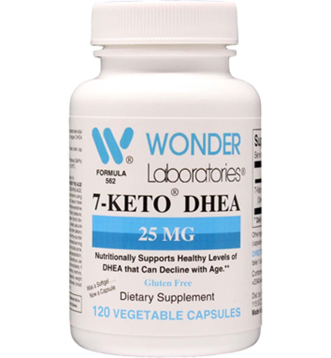 7-Keto DHEA 25 mg 120 Softgels - Item 5621