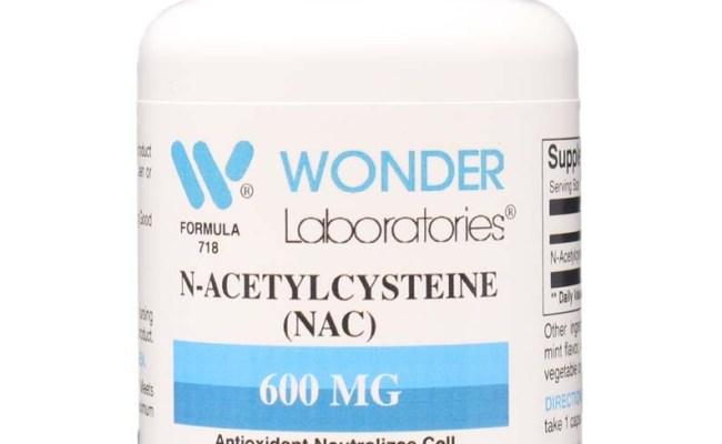 N Acetylcysteine Nac 60 Capsules Item 7181