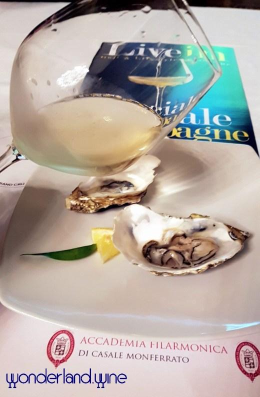 Proposta Vini - Abbinamento Ostriche Champagne Encry