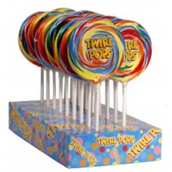 Giant Rainbow Swirl Lollipops Wonderland Food & Equipment