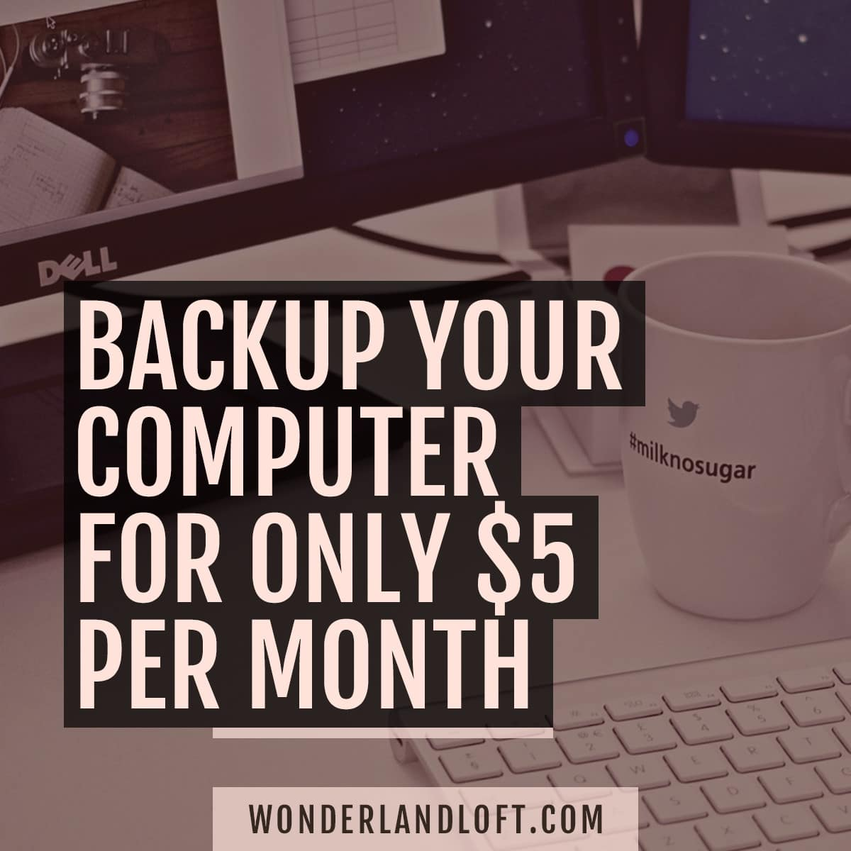 Backup your computer for $5