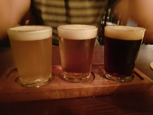 Morte Subite Altrincham Third Pint Beer Taster Three Beers light dark and medium