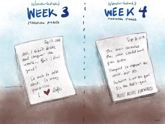 Artists Way Week 4