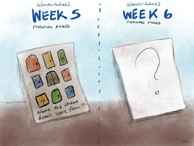 Week 5 the Artists Way