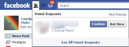 Facebook: Why Won't You Be My Friend?