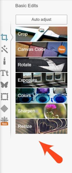 PicMonkey Resize Photos