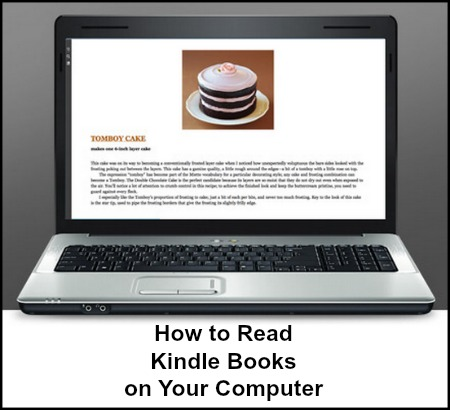 How to Read a Kindle Book on a Computer