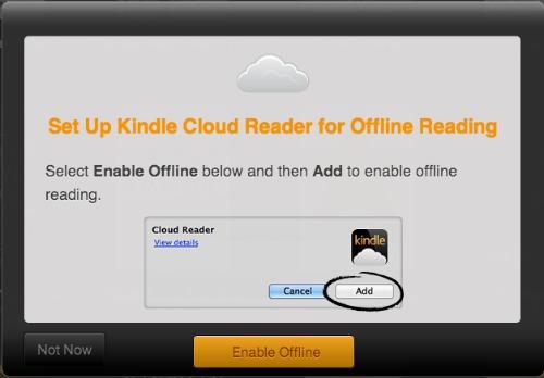 Offline Kindle books