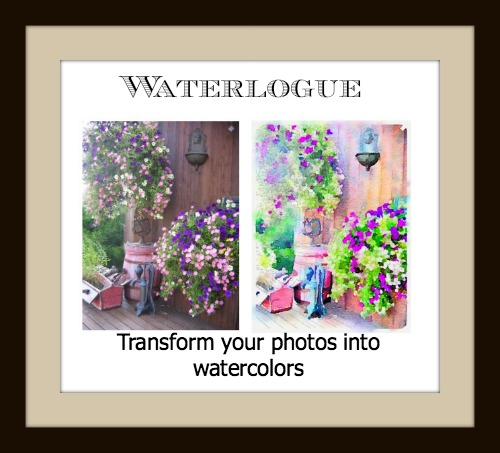 Waterlogue Transforms Your Photos into Beautiful Watercolors!
